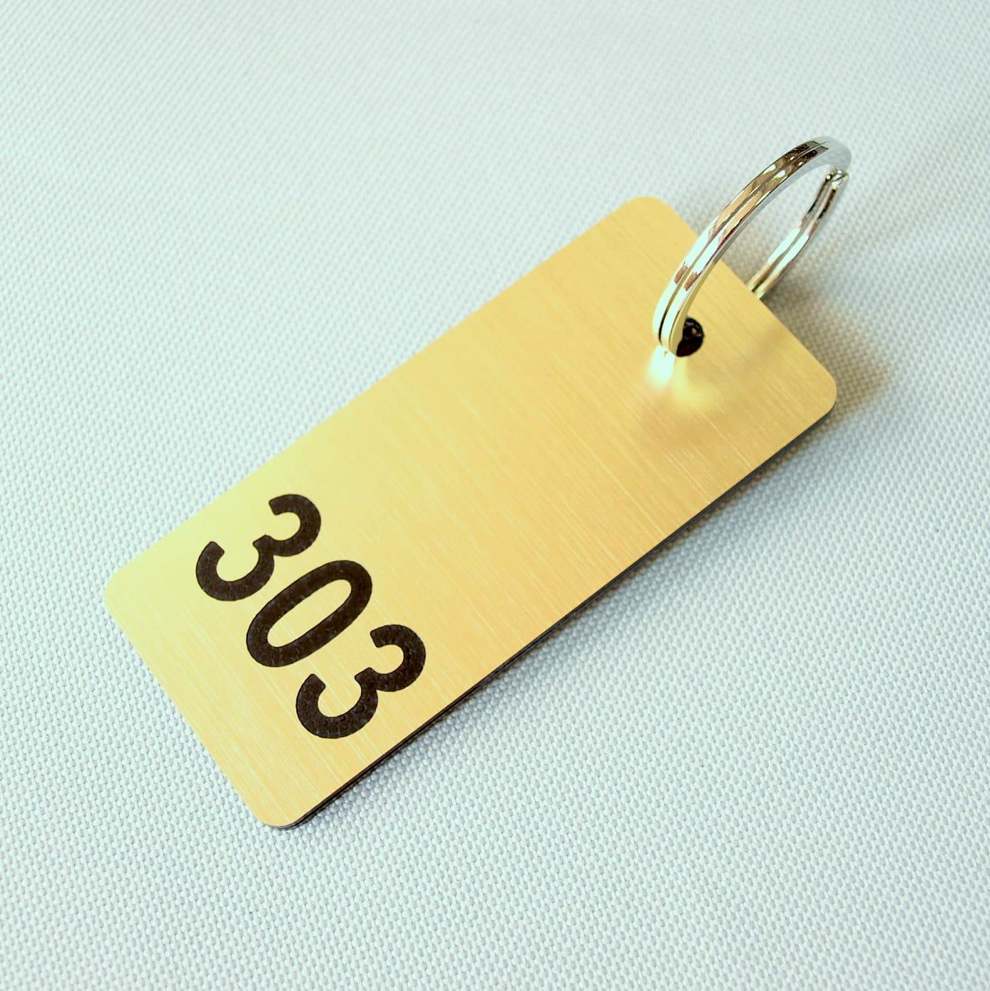 Brelok Hotelowy Brelok Do Kluczy Z Numerem Pokoju Hotelowego Lundi Znaki Napisy Symbole
